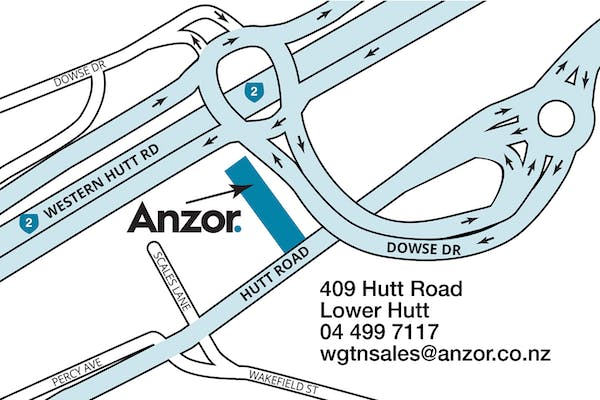 New Anzor Wellington Branch