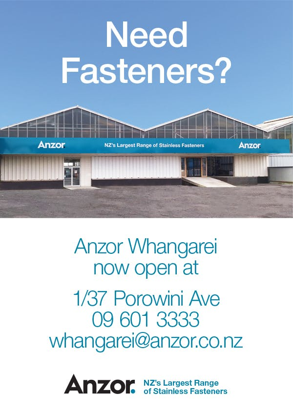 Anzor Whangarei Now Open!