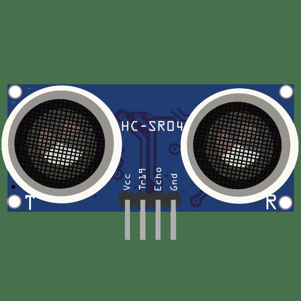 HC-SR04 Ultrasonic Sensor - component image 0