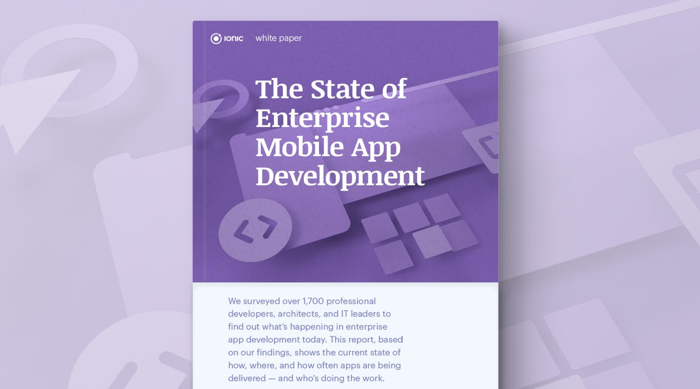 Survey says…it's the age of the web dev