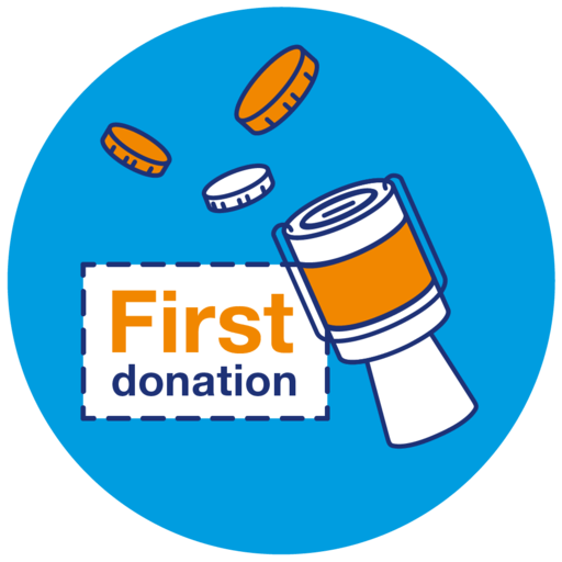 First Donation