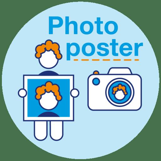 Photo poster