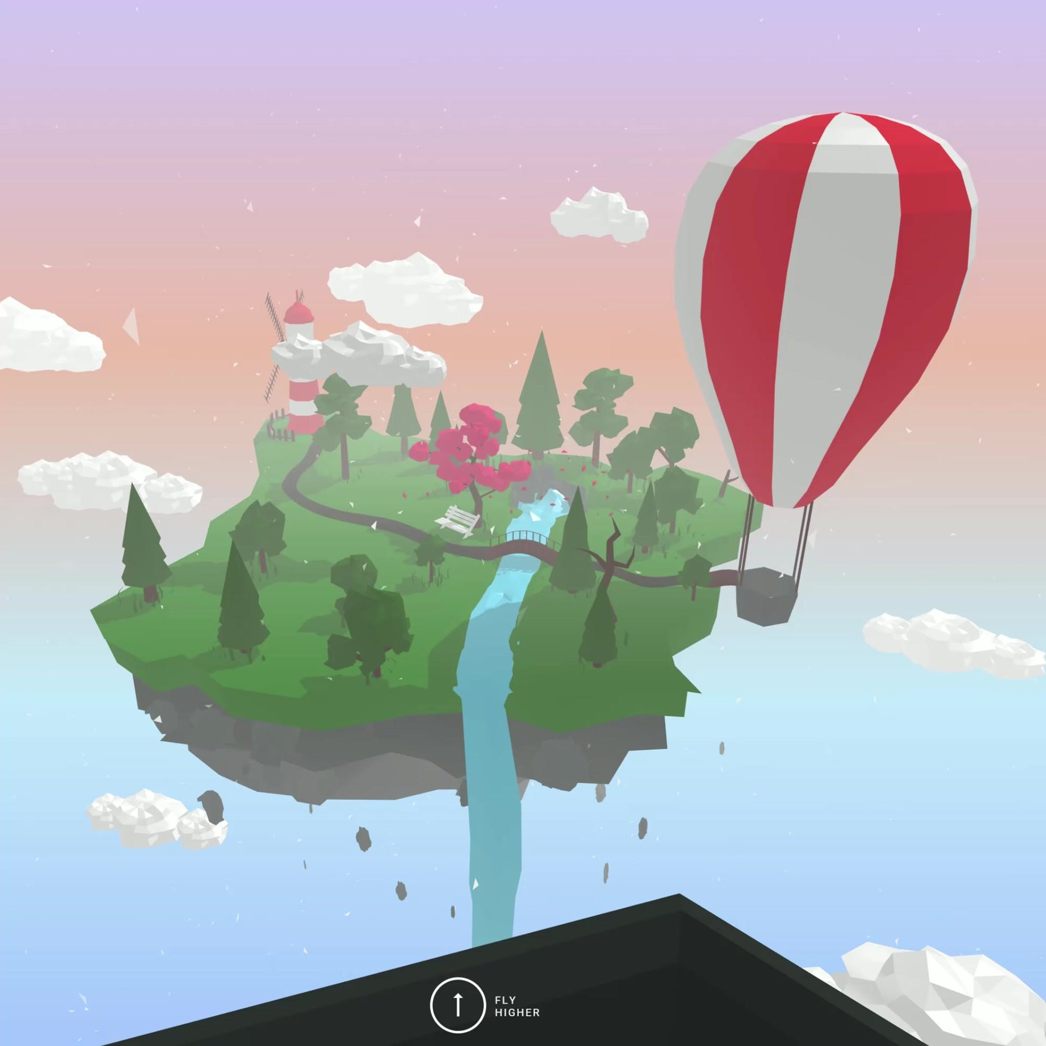 Hot air ballon VR experiment