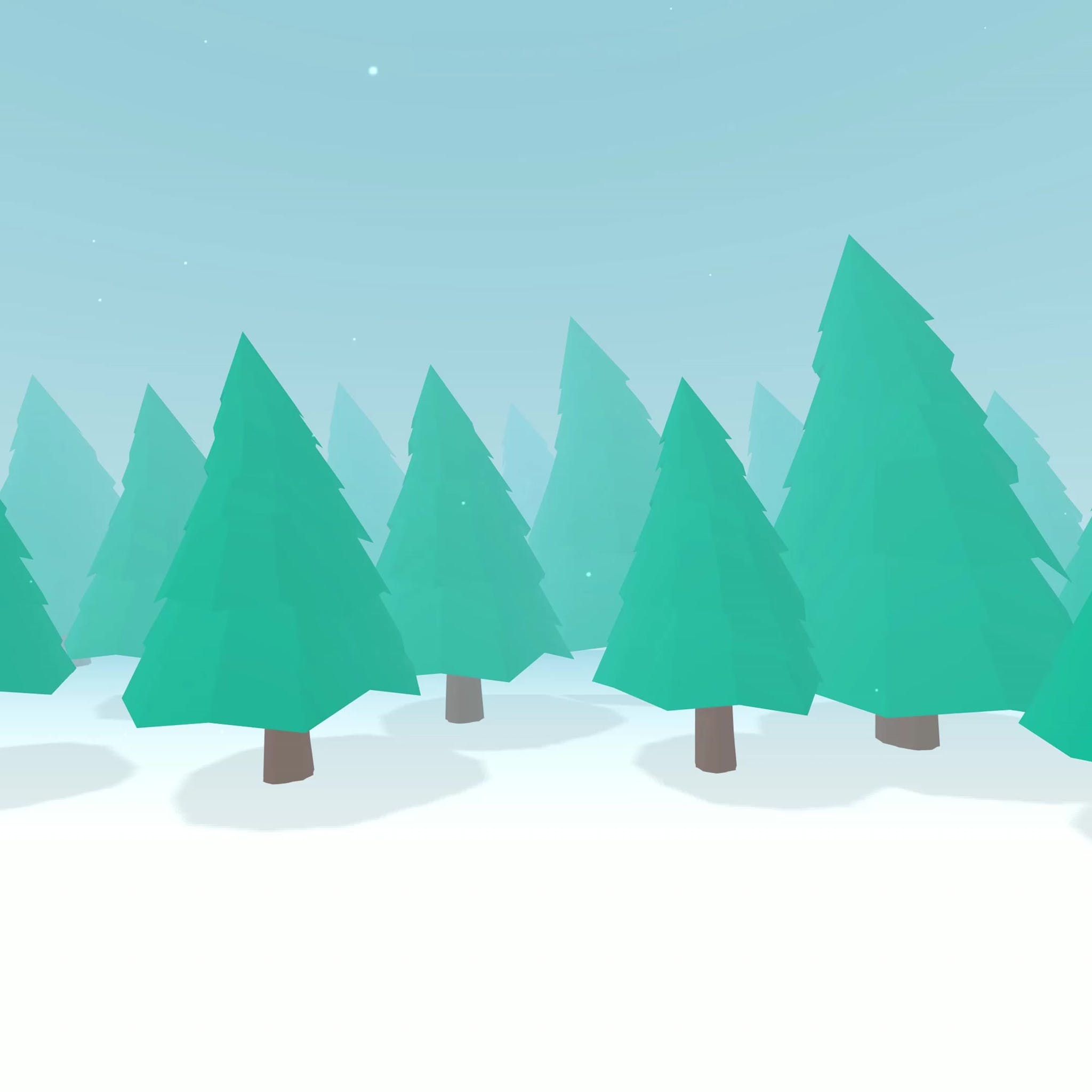Trees that keep swinging
