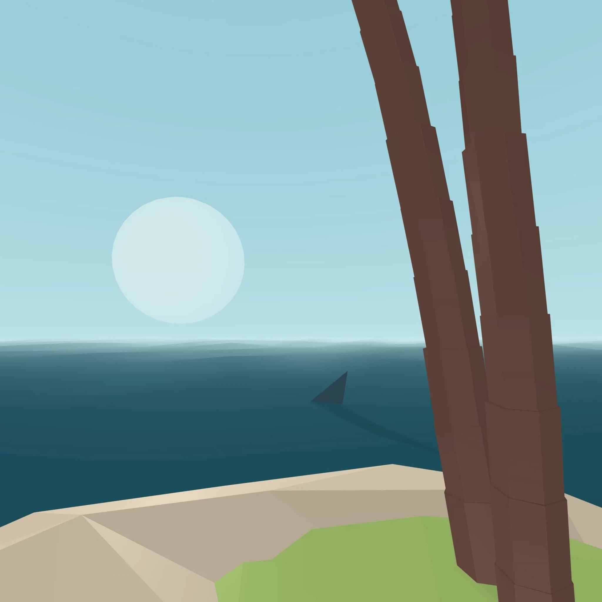 shark island VR tutorial