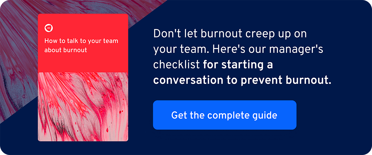 burnout cheat sheet