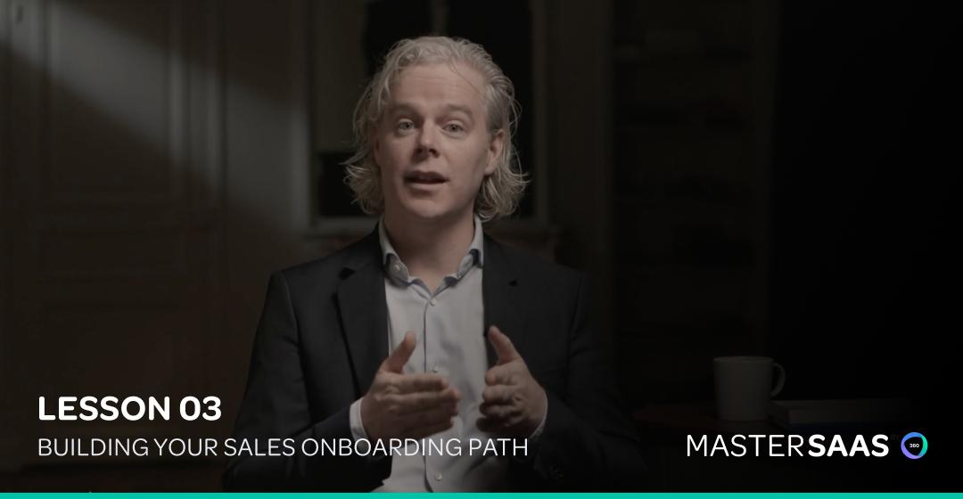 Sales Onboarding Process google mastersaas