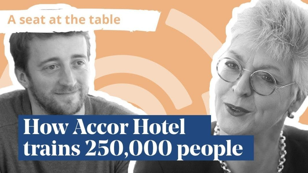 How accor hotel trains 250k people