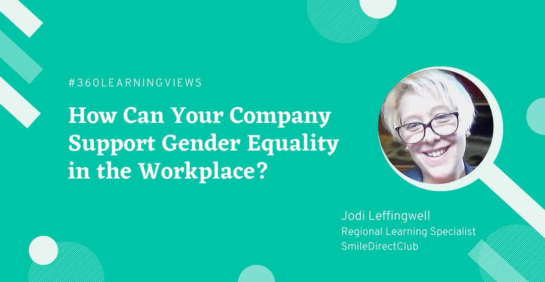 gender equality in workplace Jodi leffingwell