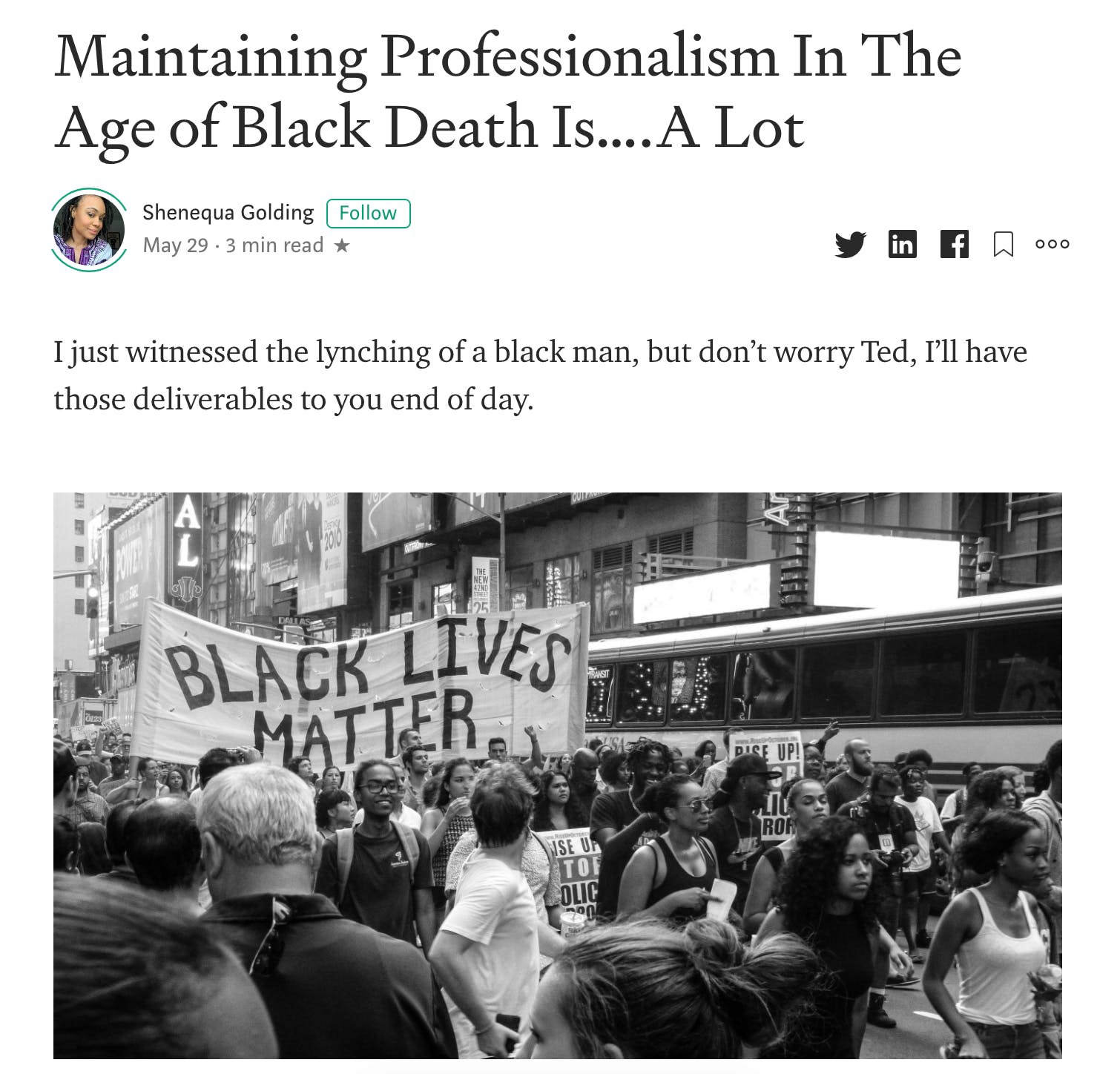 maintaining professionalism in the age of black death