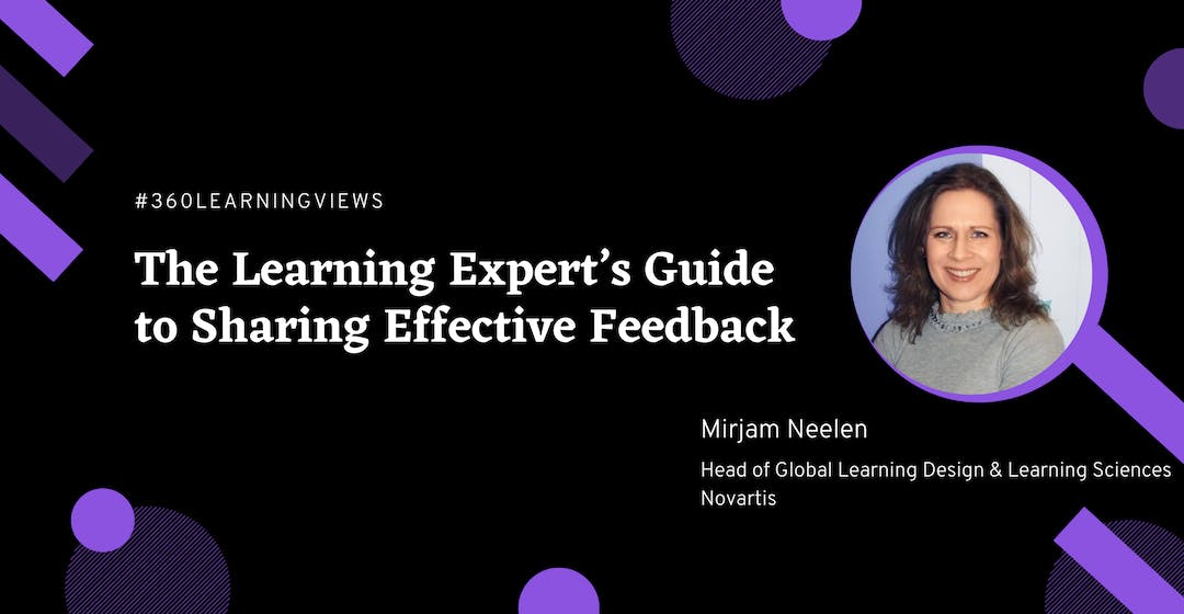 Sharing Effective Feedback