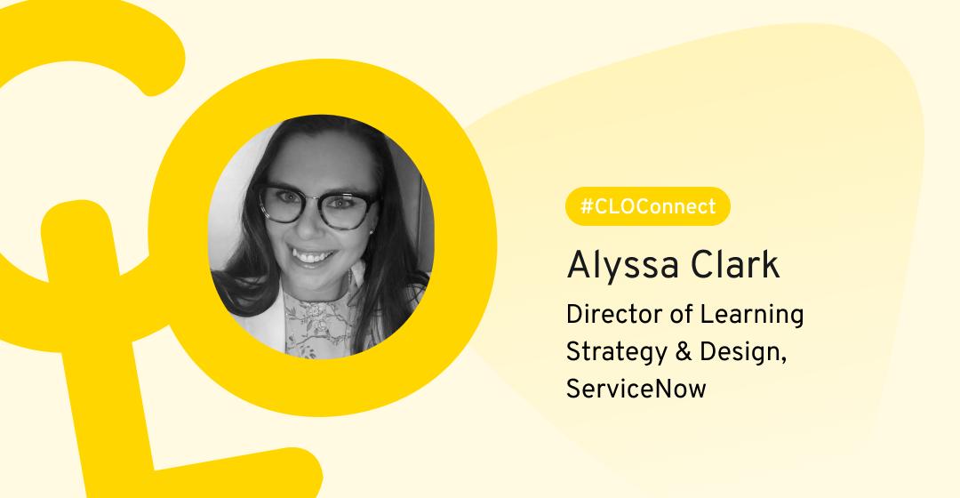 ServiceNow product stories Alyssa Clark