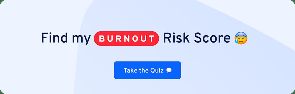 burnout quiz cta