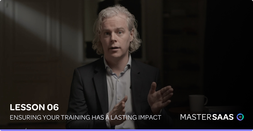 google mastersaas sales training impact header