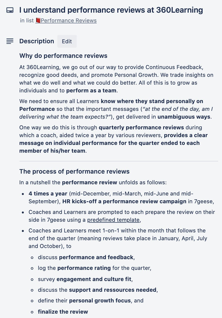 performance review guidelines