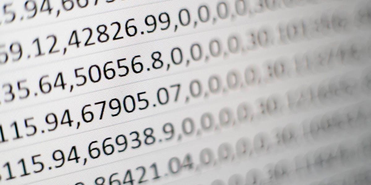 Series of numbers