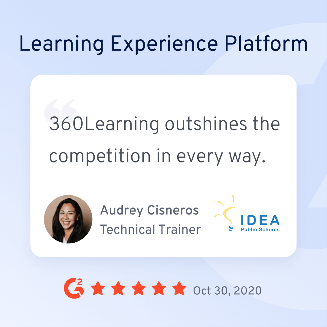 Learning Experience Platform