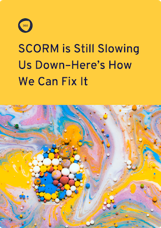 SCORM ebook cover |360Learning