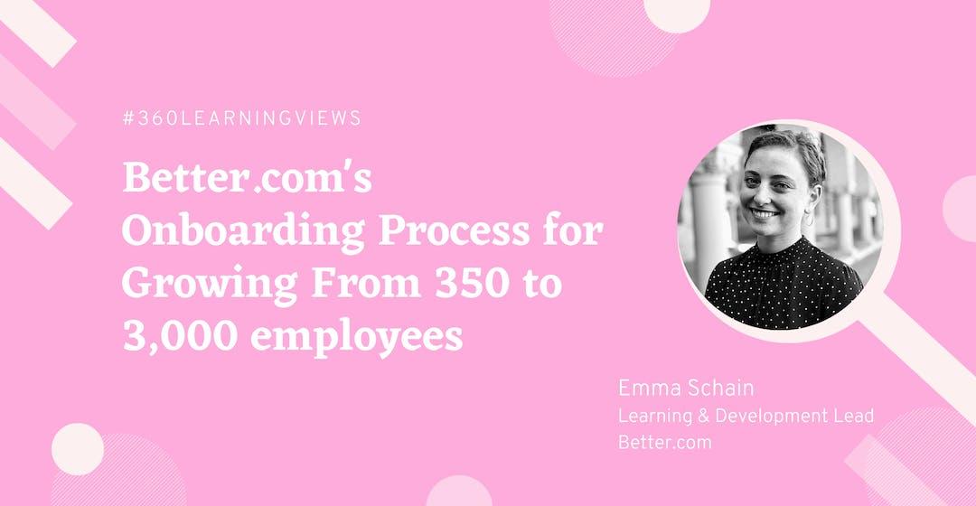 Better.com's Onboarding Process