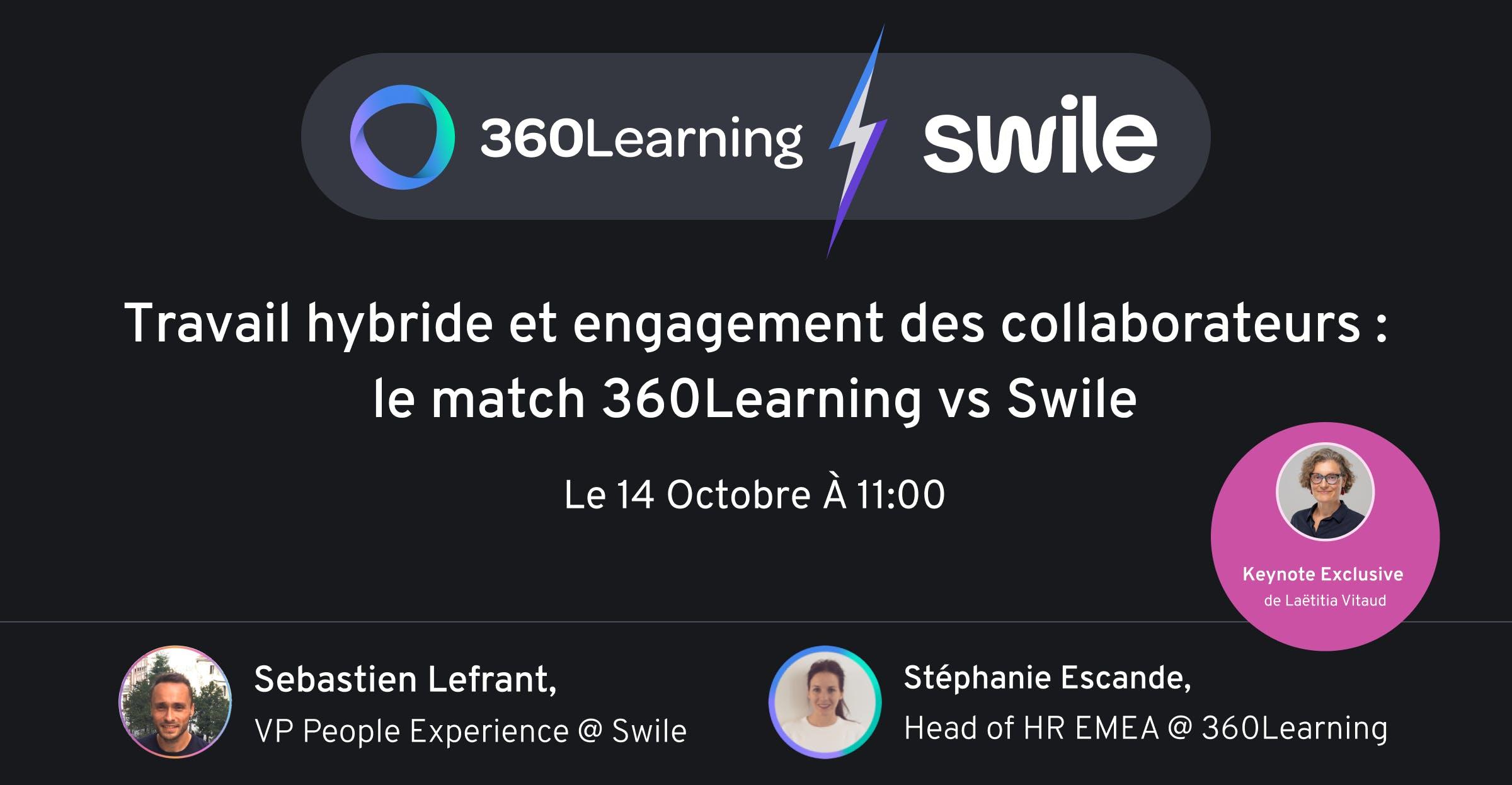 Webinar Swile / 360Learning