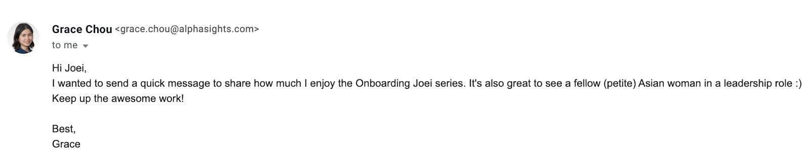 Onboarding Joei 2021 Webby Awards