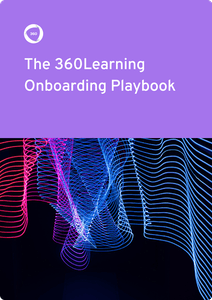 Onboarding playbook ebook cover |360Learning