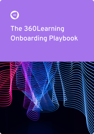 Onboarding playbook ebook cover | 360Learning