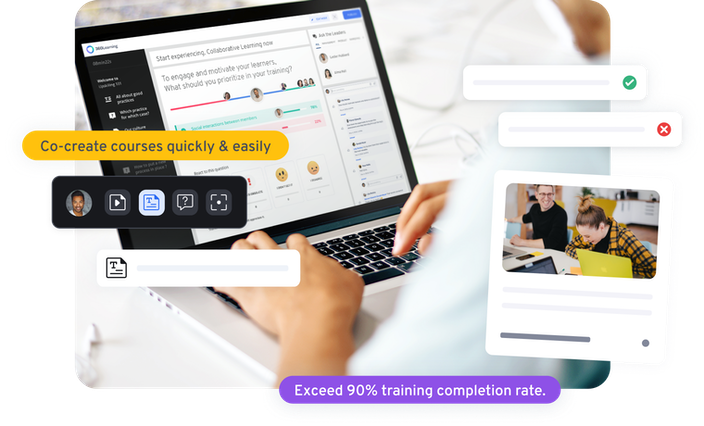 Co-create courses with 360Learning screenshot