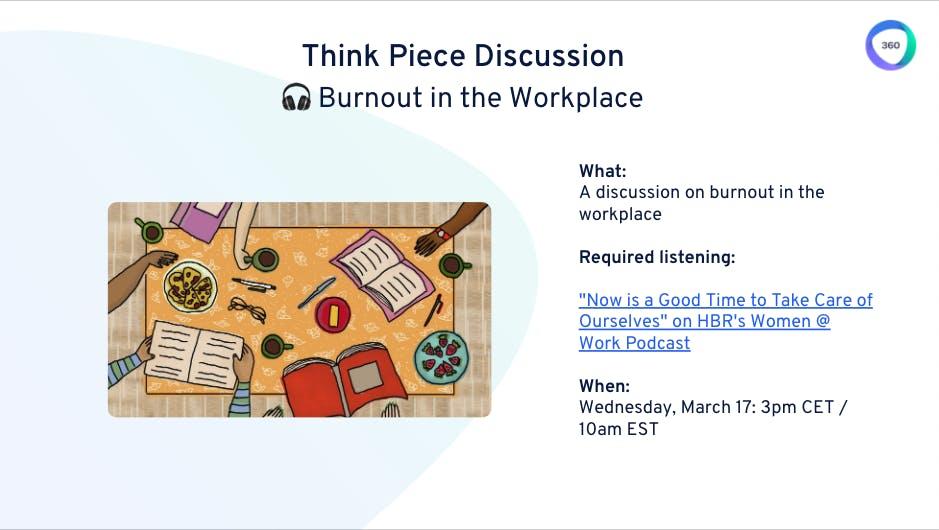 Women ERG burnout