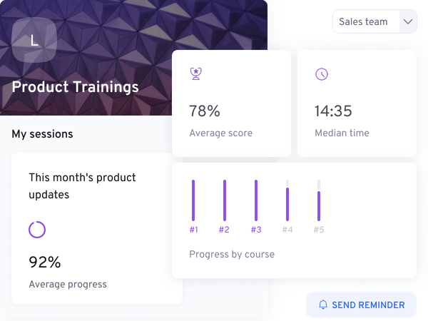 Product illustration Scale |360Learning