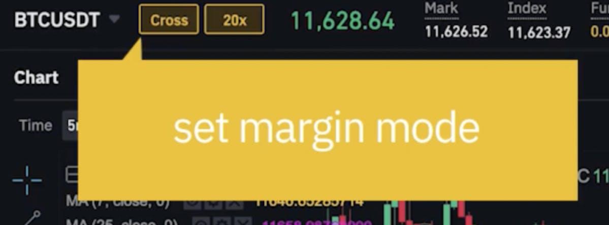 margin mode Binance