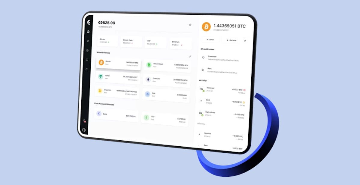 An online crypto wallet