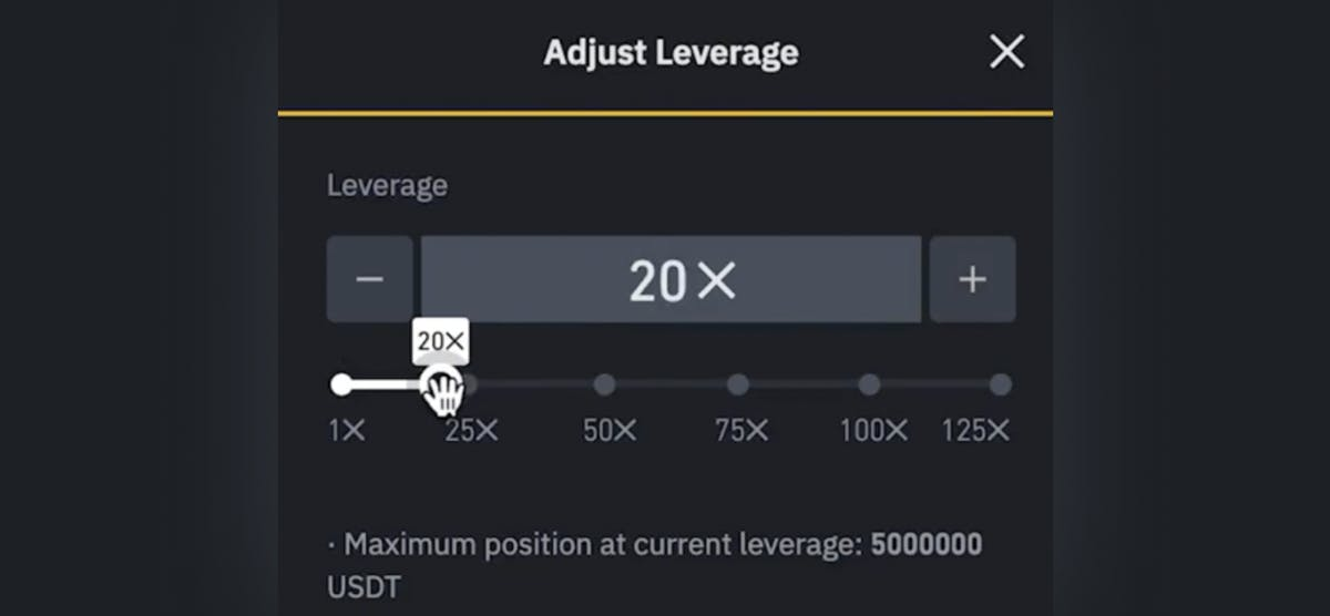 futures leverage on Binance