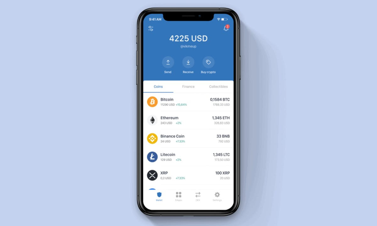 Trust Wallet Binance screenshot