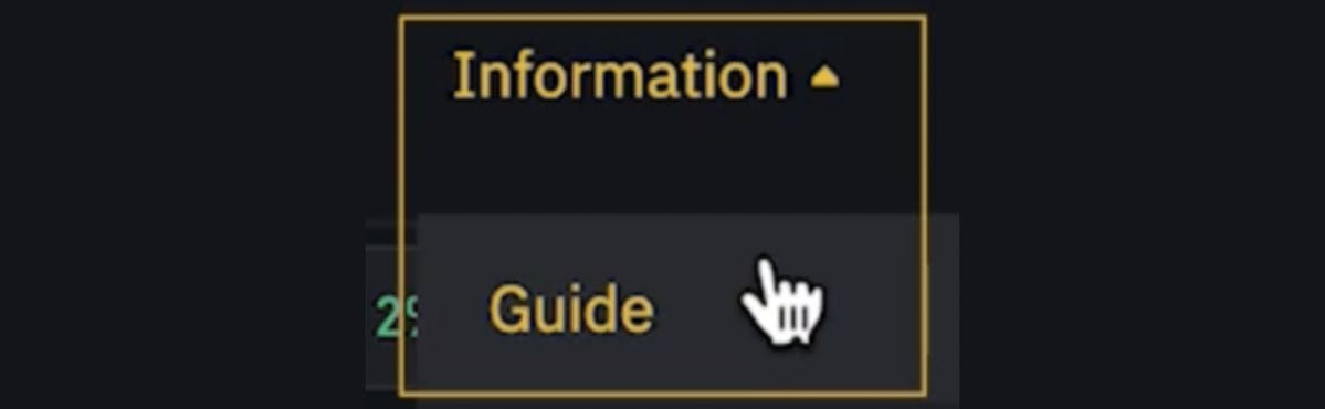 Information on Binance