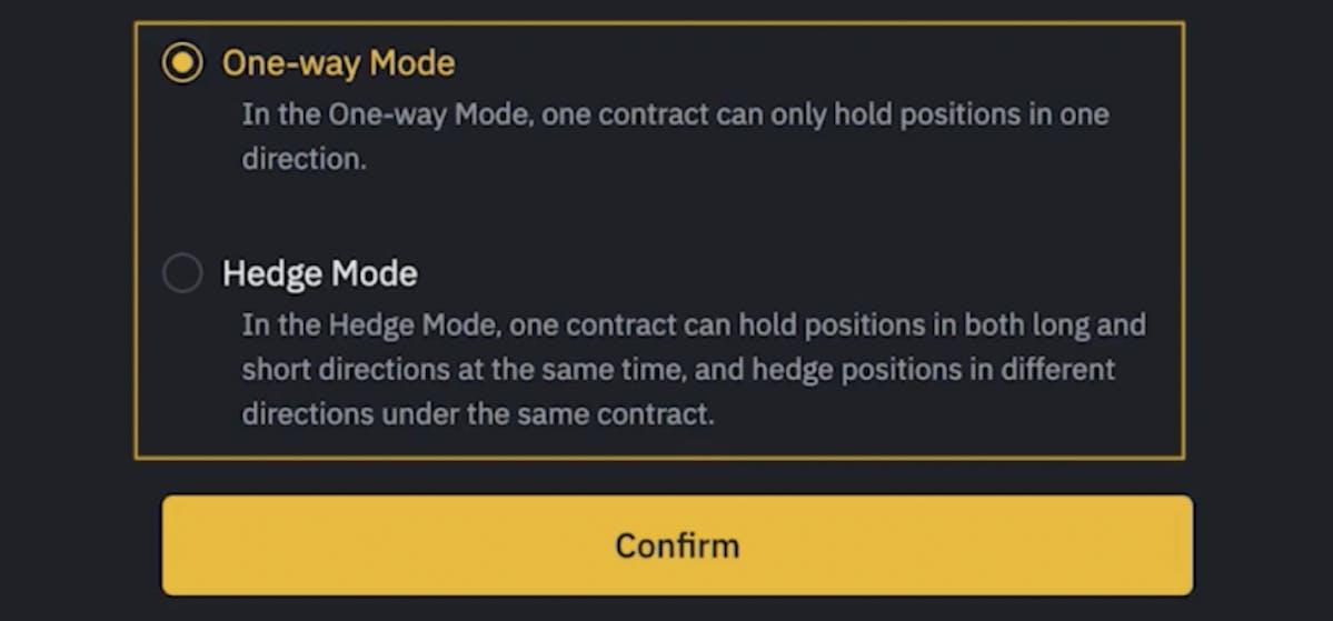 futures trading modes