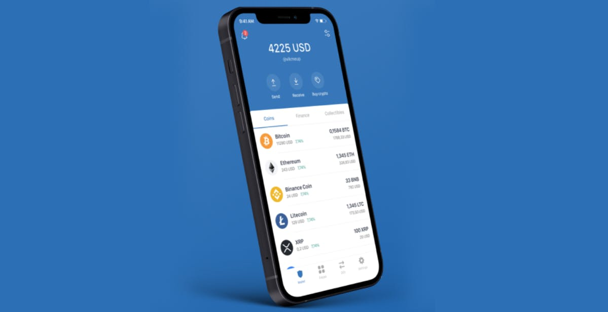 A mobile crypto wallet – Trust Wallet
