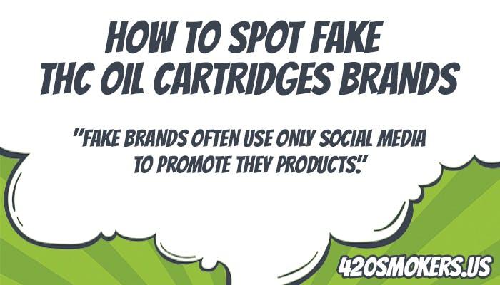 how to spot fake thc oil cartridges brands easy