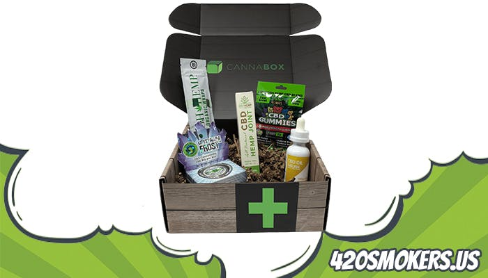 the cannabox subscription weed pack
