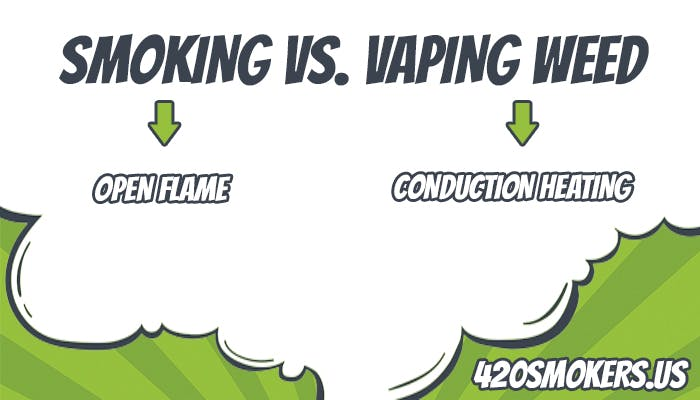 smoking versus vaping marijuana