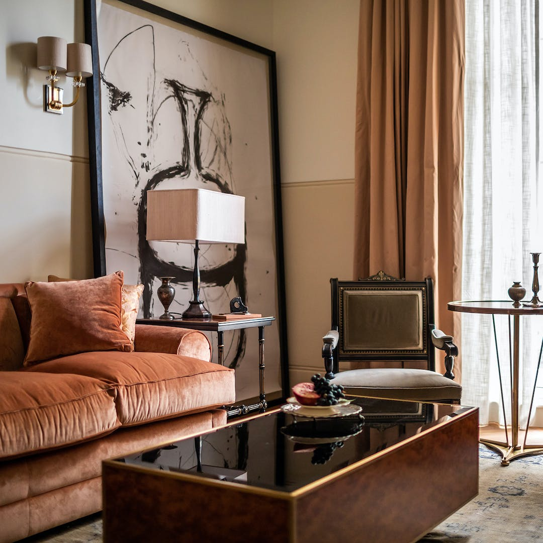 A lounge at the NoMad hotel