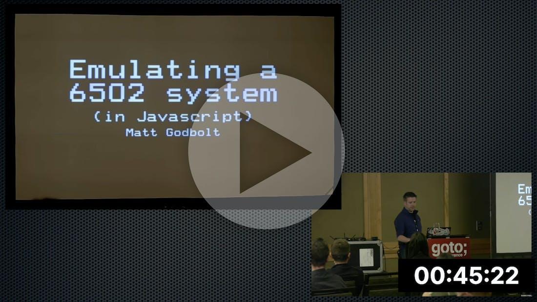 Matt Godbolt on 6502 Emulation