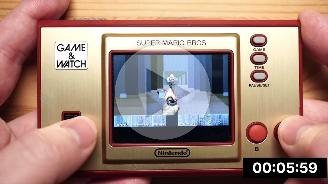 Pocket Doom on Nintendo Game & Watch