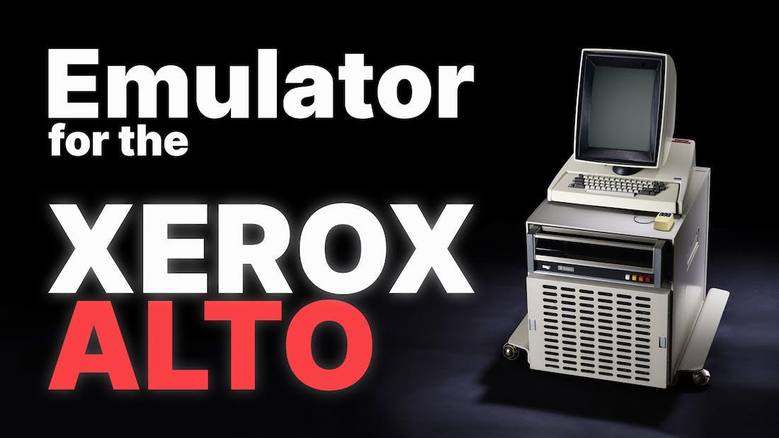Xerox Alto Emulator