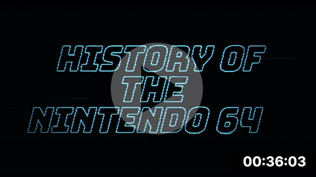 Nintendo 64 - History