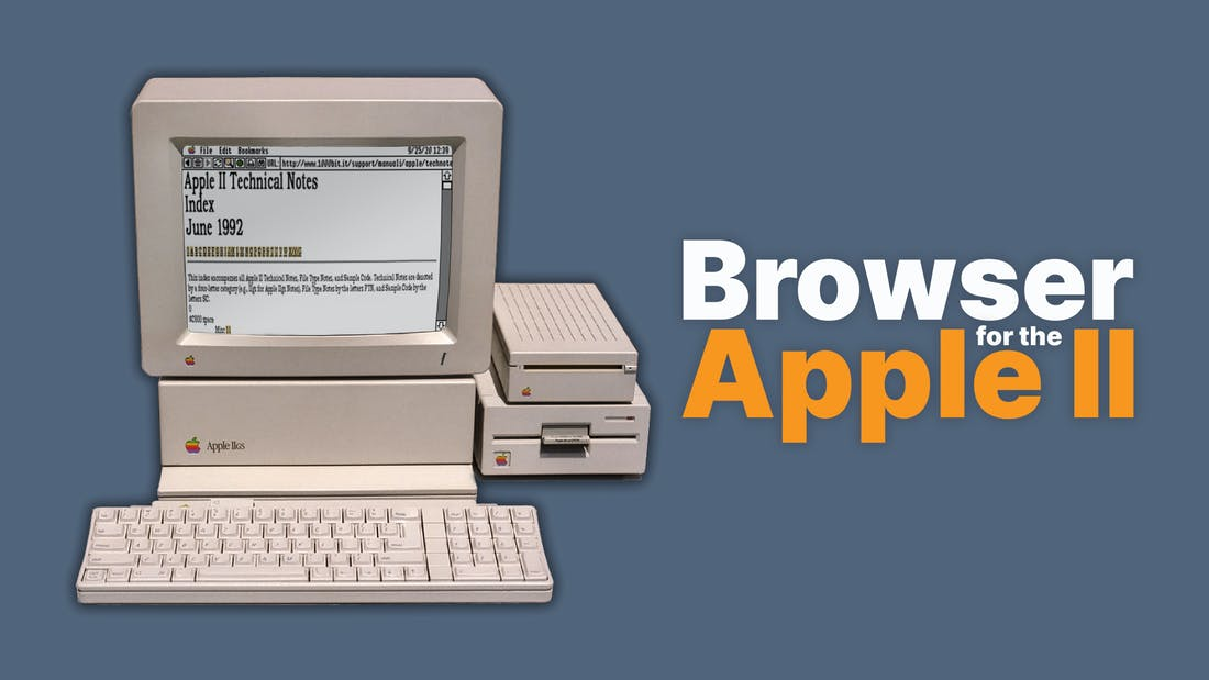 A Browser for the Apple IIgs