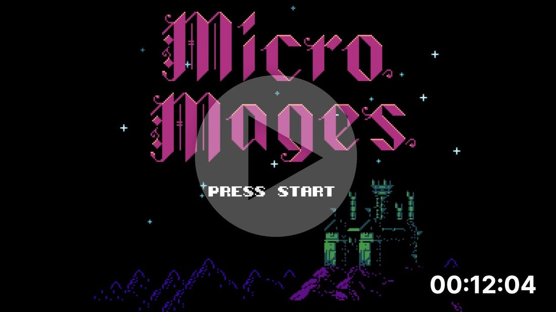 A NES Game in just 40 Kilobytes - MicroMages