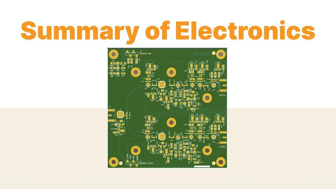 A Summary of Electronics