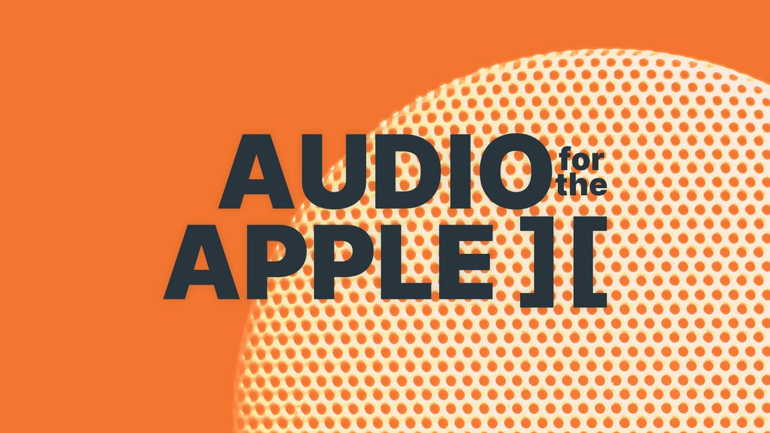 Audio for the Apple ][