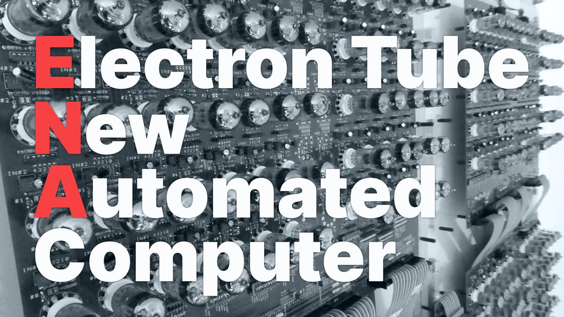 Electron Tube New Automated Computer